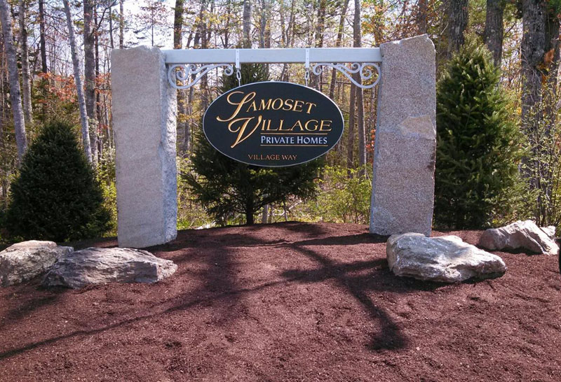 Samoset Village Sign